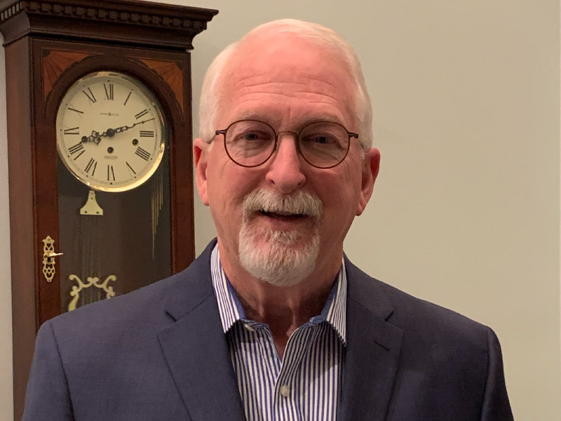 Overlevende van een hartaanval Dr. David Watlington. (Foto met dank aan Dr. David Watlington)