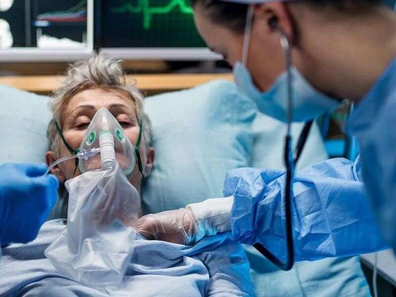 Rázy v nemocnicích spojené s vyšší úmrtností na COVID-19