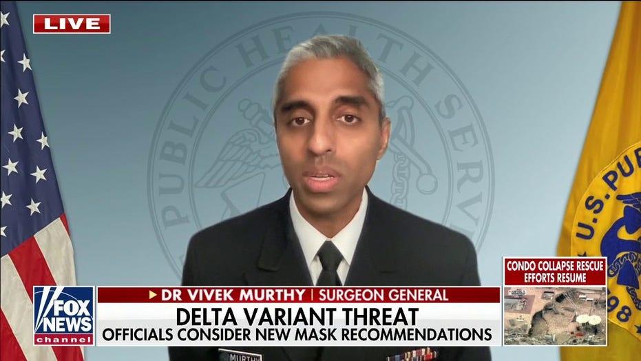 "Dr. Murthy: varianta Delta este ""mult mai transmisibilă"" decât alte variante COVID"
