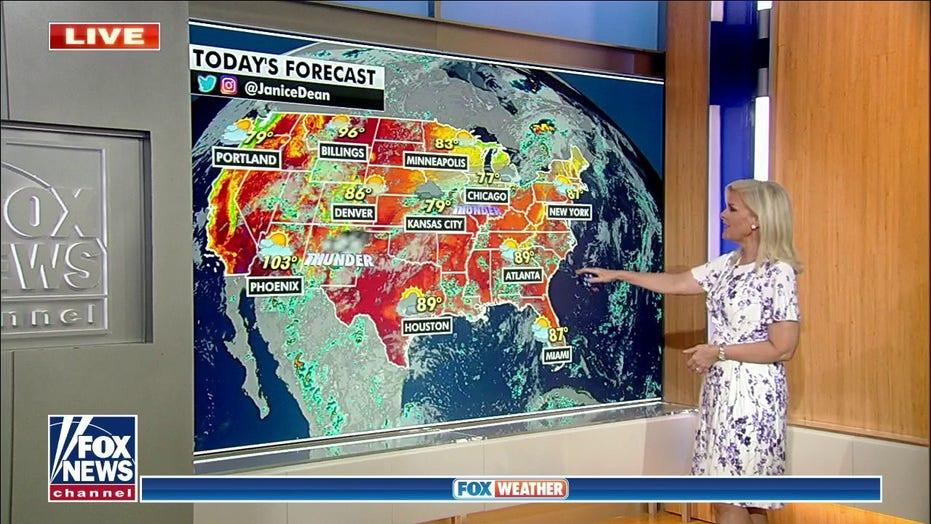 Národní předpověď počasí na 15. července