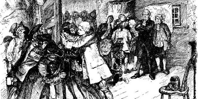 La rivolta del dottore del 1788 (raffigurata sopra) fu una delle almeno 17 rivolte anatomiche negli Stati Uniti, scatenata dall'indignazione per il fatto che i medici stessero dissotterrando i morti.