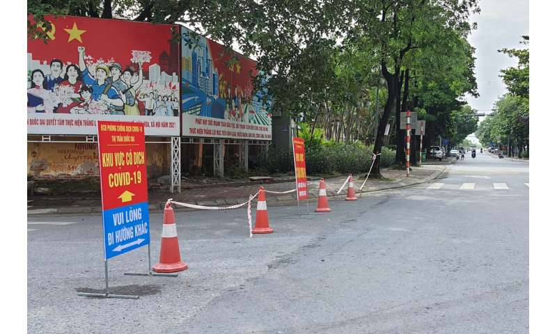Vietnam mengunci ibu kota Hanoi selama 15 hari karena kasus meningkat