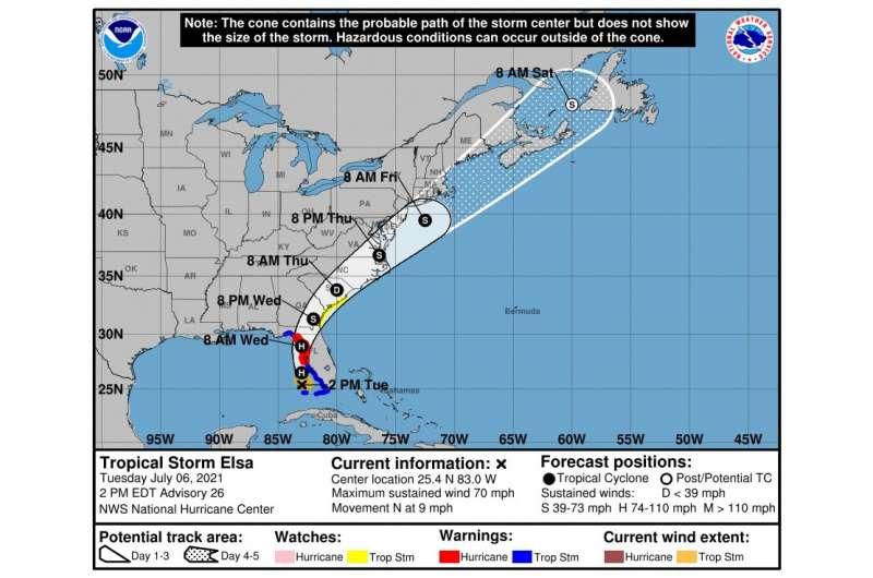 Badacze psychologii oferują lepsze narzędzie do wizualizacji zagrożenia huraganem