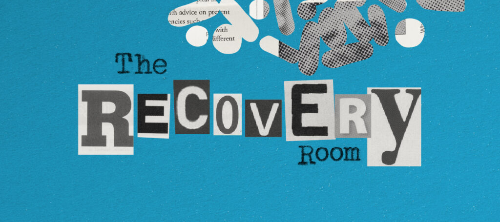 Záchranná místnost modrá s prášky