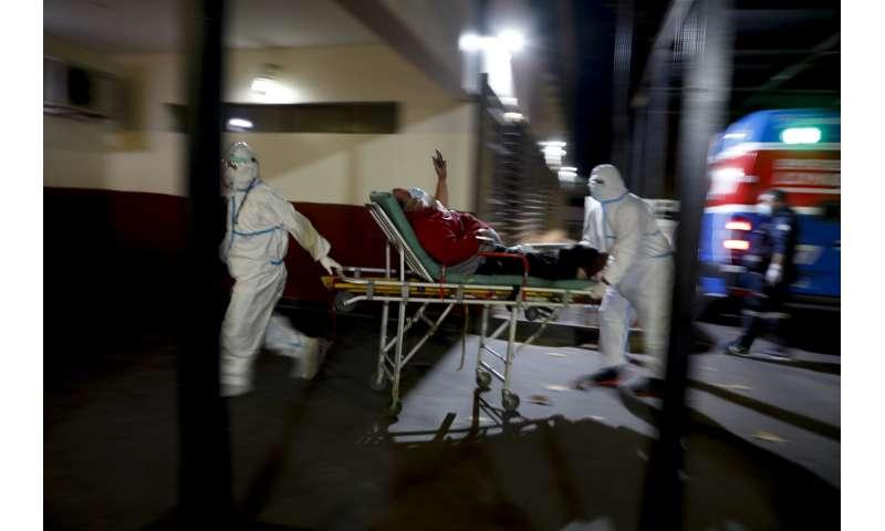 Ako sa javí variant Delta, zaznamenáva Argentína 100,000 XNUMX úmrtí na vírusy
